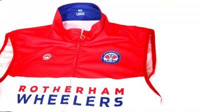 Rotherham Wheelers Pro Gilet